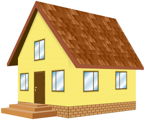 House png clipart.  transparent library huge