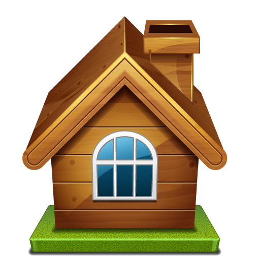 Wooden hd mart. House png image