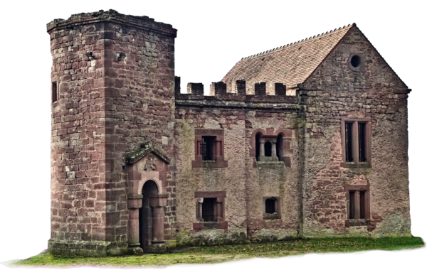 Haunted castle stock vs. House png transparent