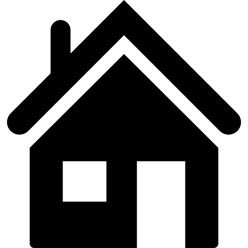 Home buildings houses icon. House silhouette png