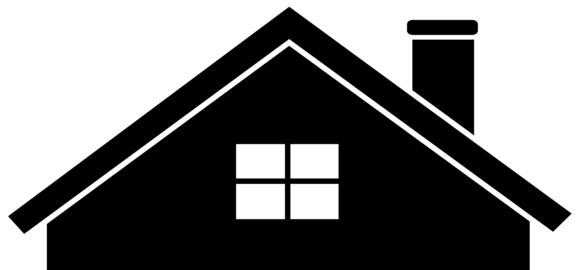 Of a at getdrawings. House silhouette png