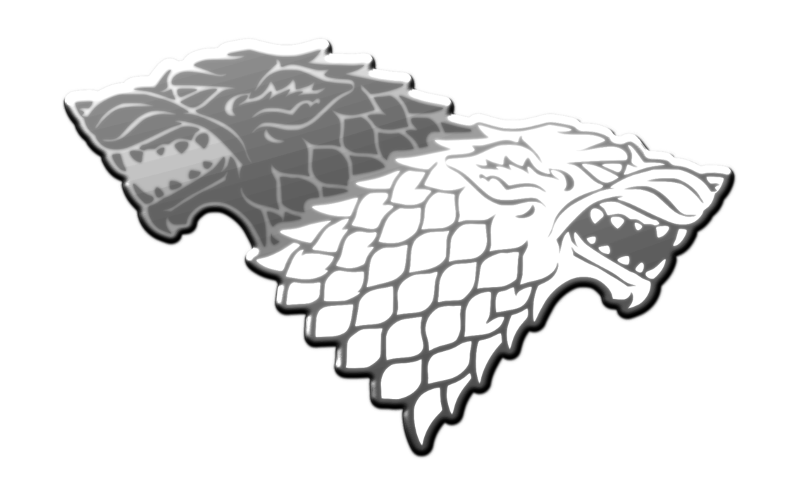 House stark png. Badge by kriss on