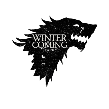 House stark png. Winter is coming shirt