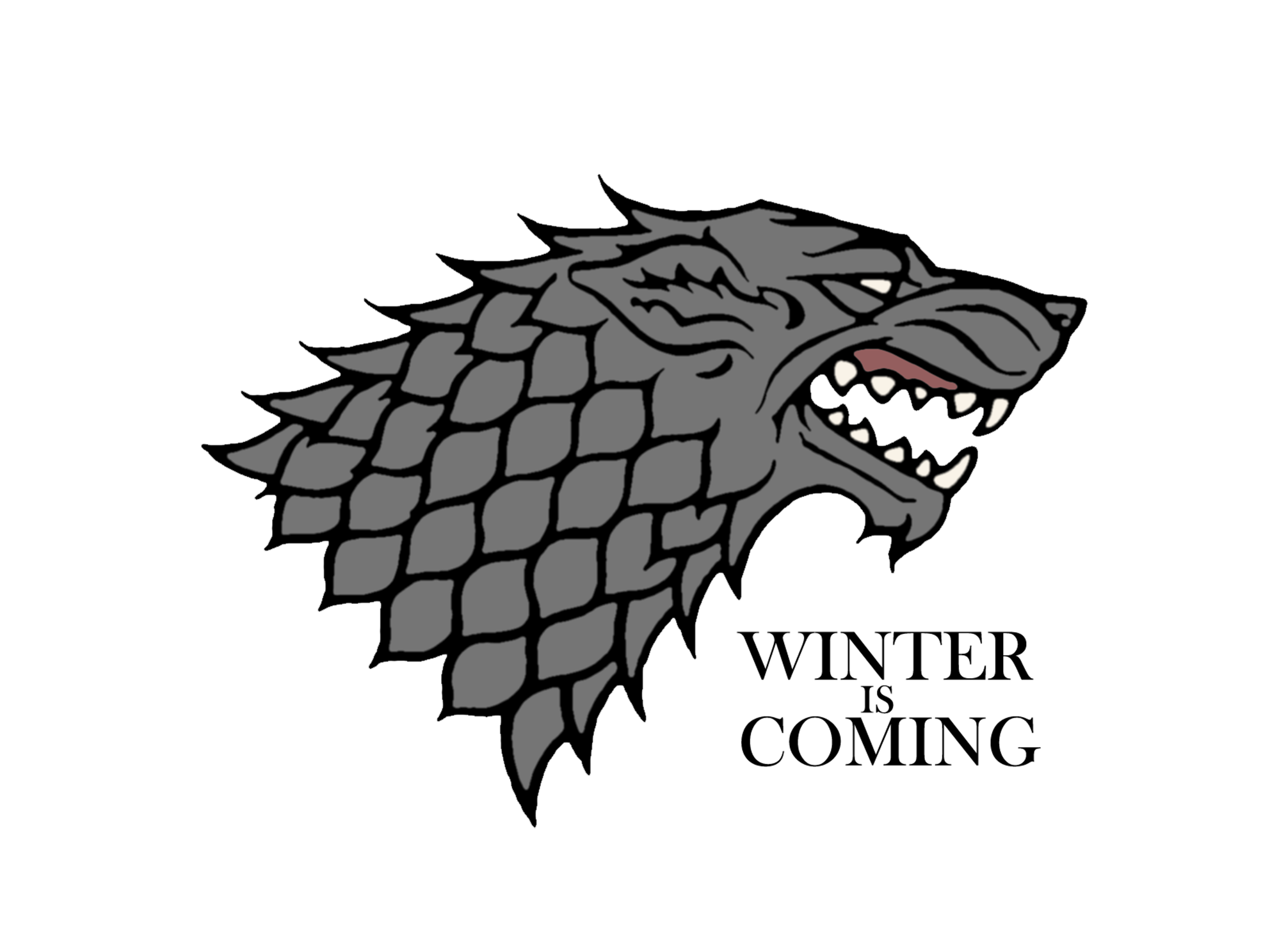 House stark png. Game of thrones