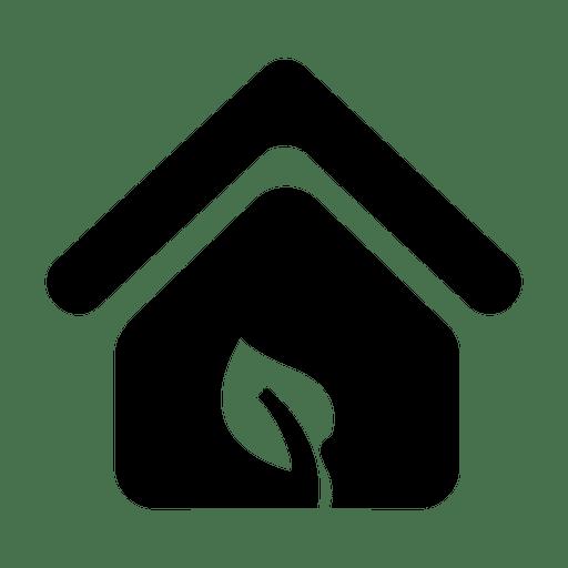 Eco svg transparent vector. House symbol png