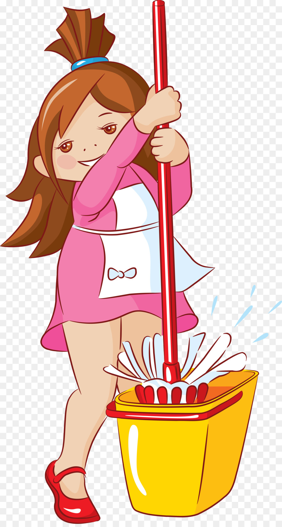 Housekeeping clipart. Cleaning child clip art