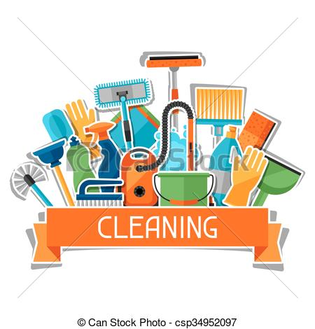 Housekeeping clipart. Station