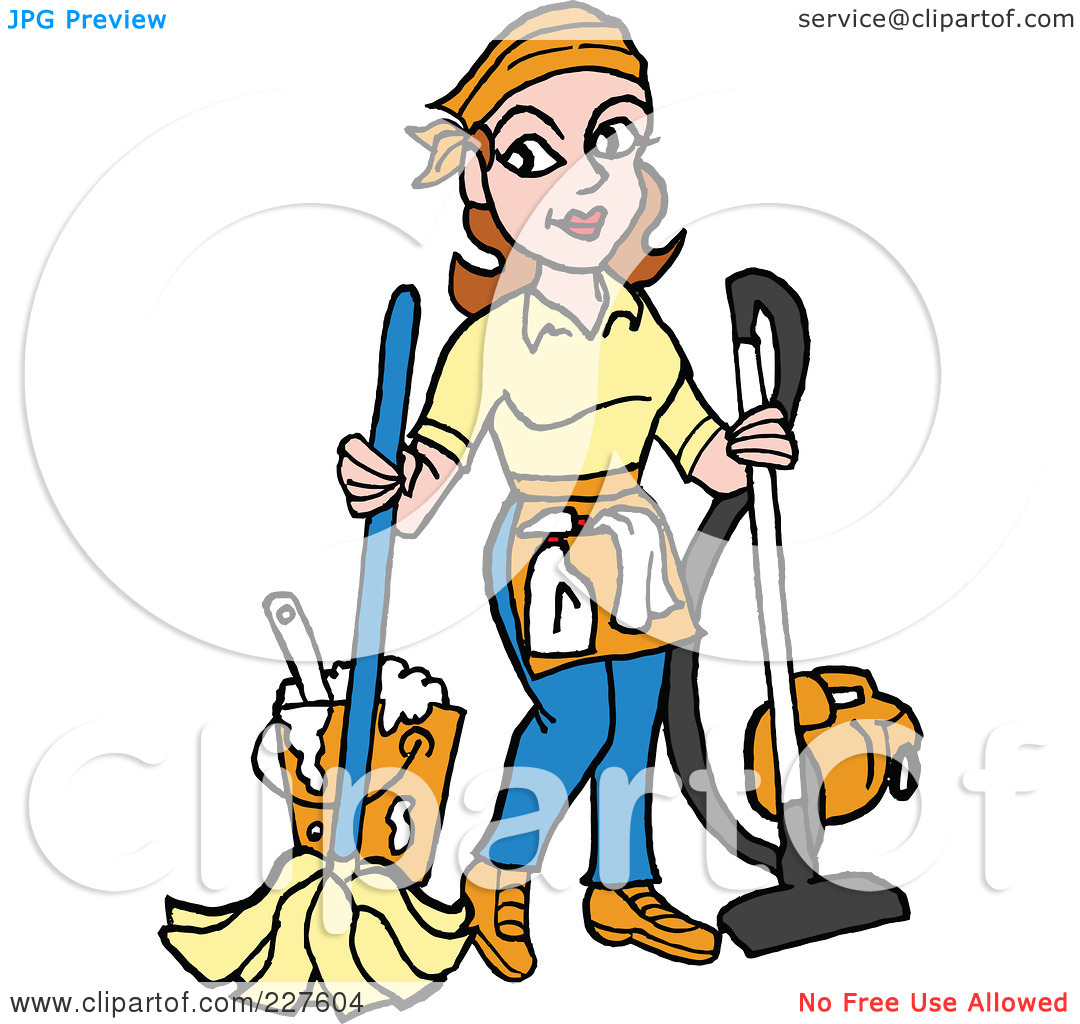Housekeeping clipart. Panda free images housekeeperclipart