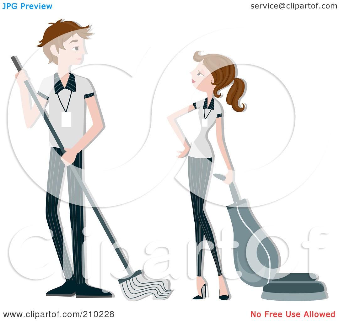 At . Housekeeping clipart beach