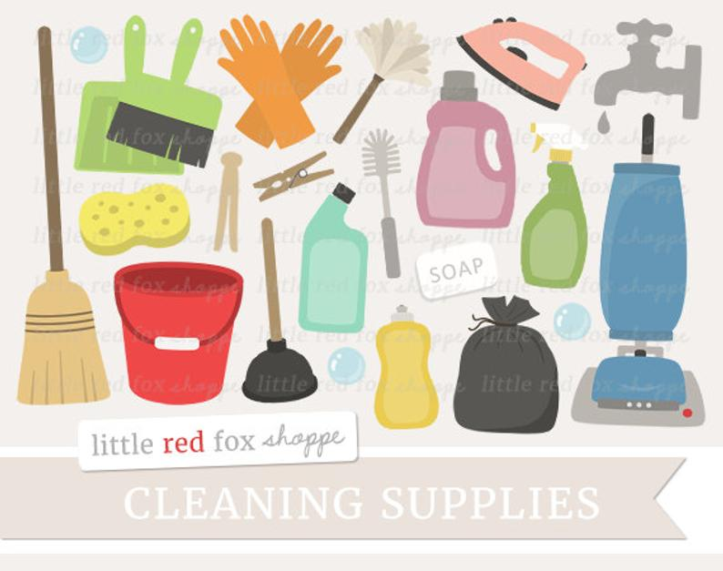 Cleaning supplies clip art. Housekeeping clipart car wash supply