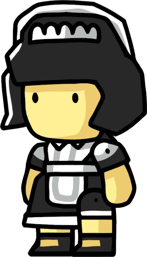 Maid clipart butler. Scribblenauts wiki fandom powered