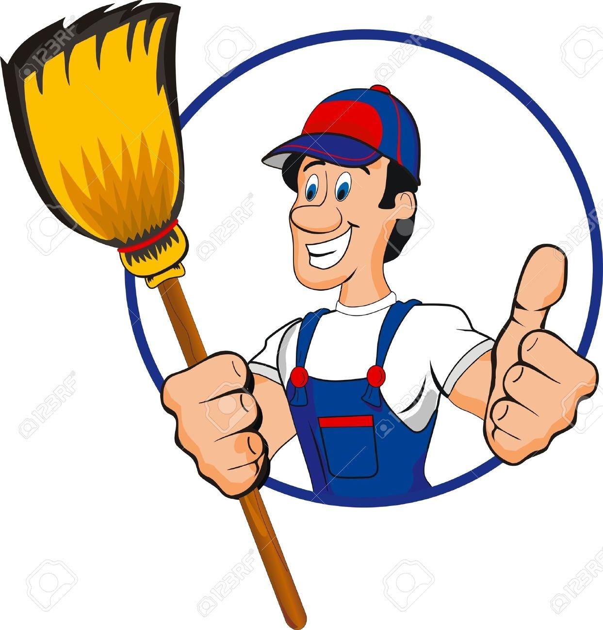 Housekeeping clipart cartoon. Free download best
