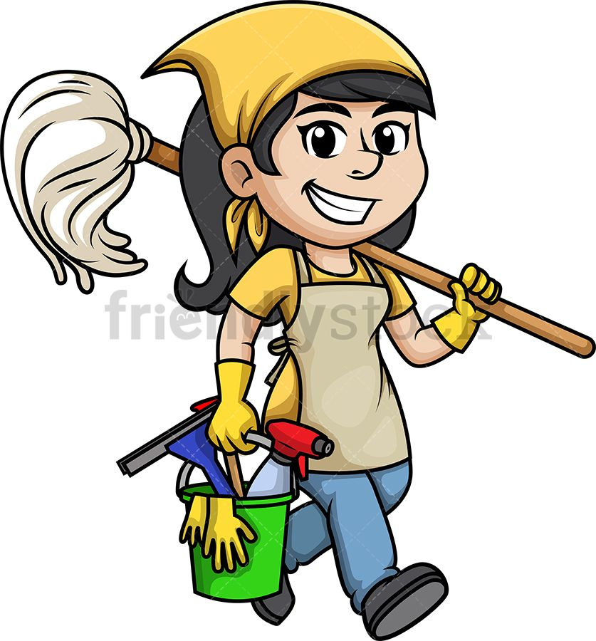 Cleaning lady clip art. Housekeeping clipart clean hand