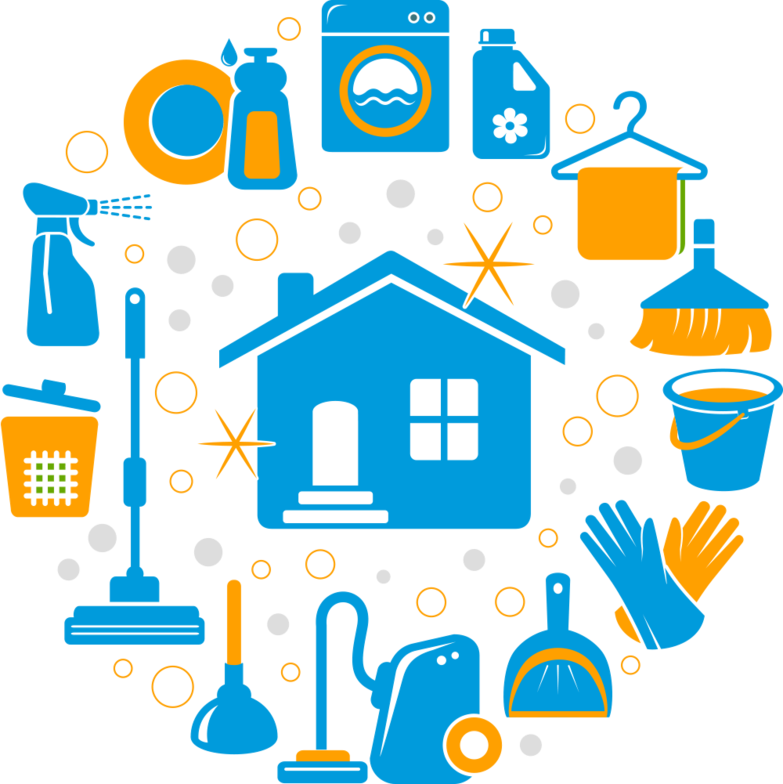 Housekeeping clipart commercial cleaning. Our residential and solutions