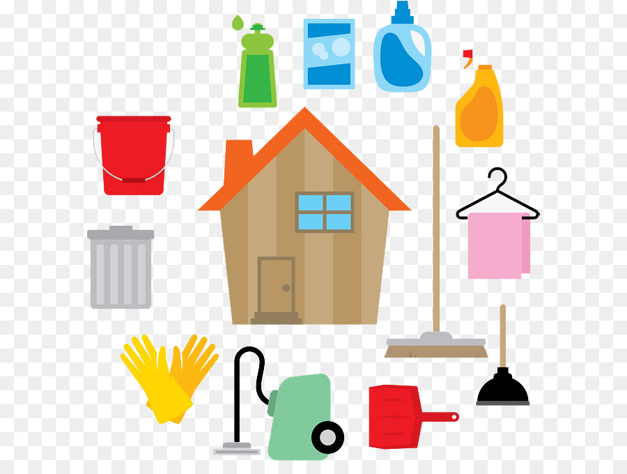 House cartoon . Housekeeping clipart commercial cleaning
