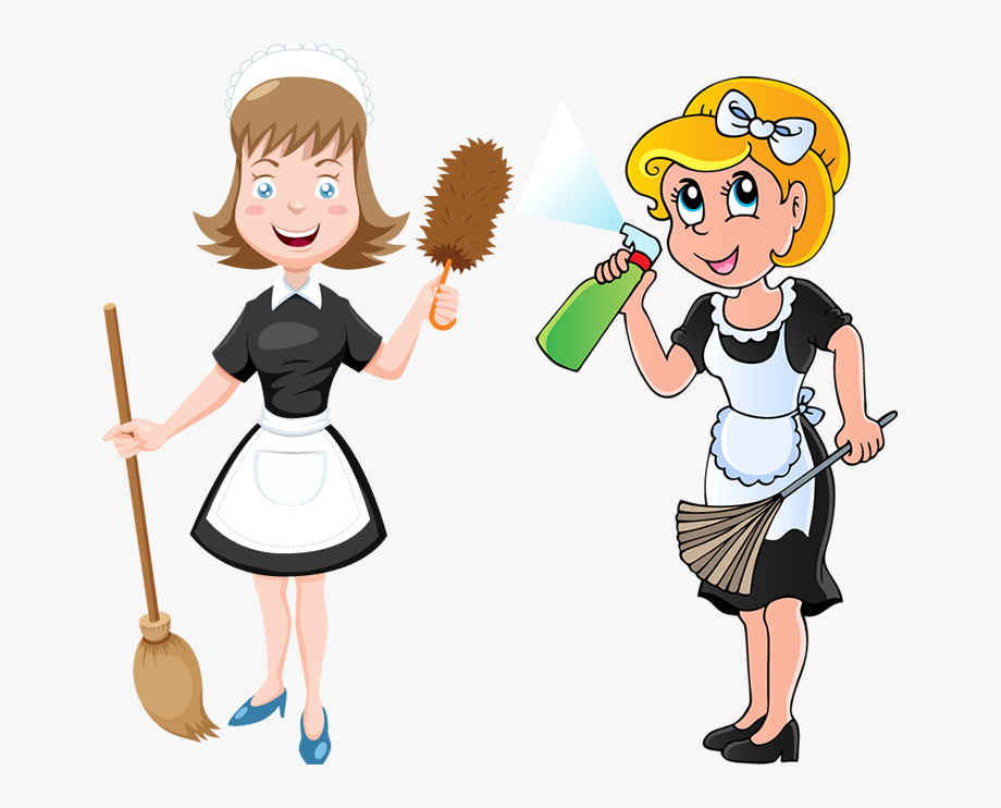 Housekeeper cliparts . Housekeeping clipart general