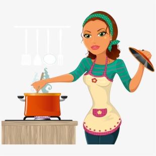 Housekeeper vector free download. Housekeeping clipart homemaker