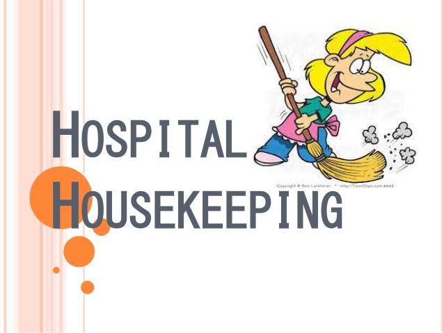 Housekeeping clipart hospital housekeeping.