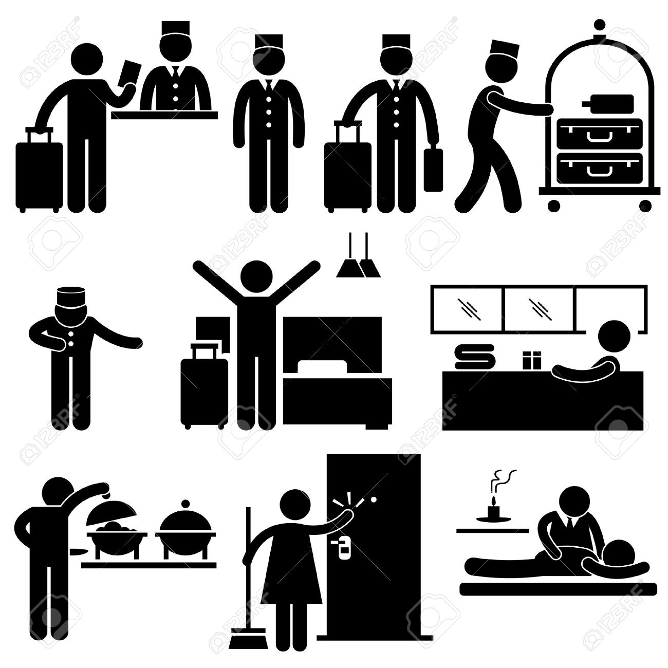 Housekeeping clipart hotel housekeeping. Station