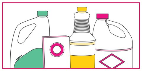 Housekeeping clipart household chemical. Cleaning products you should