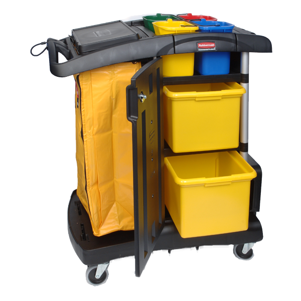 Housekeeping clipart housekeeping cart. Rubbermaid cleaning carts a