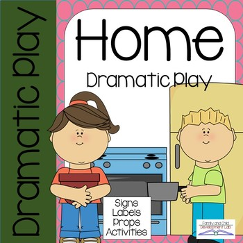 Home dramatic play . Housekeeping clipart housekeeping center
