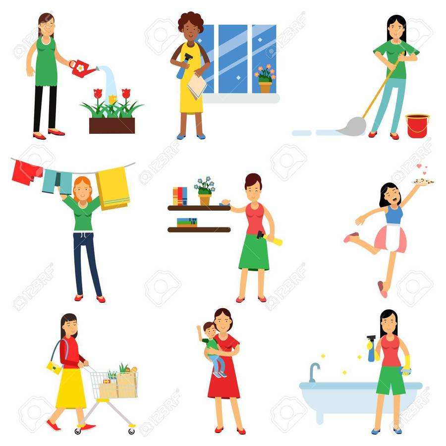 Download cleaning as a. Housekeeping clipart housekeeping team