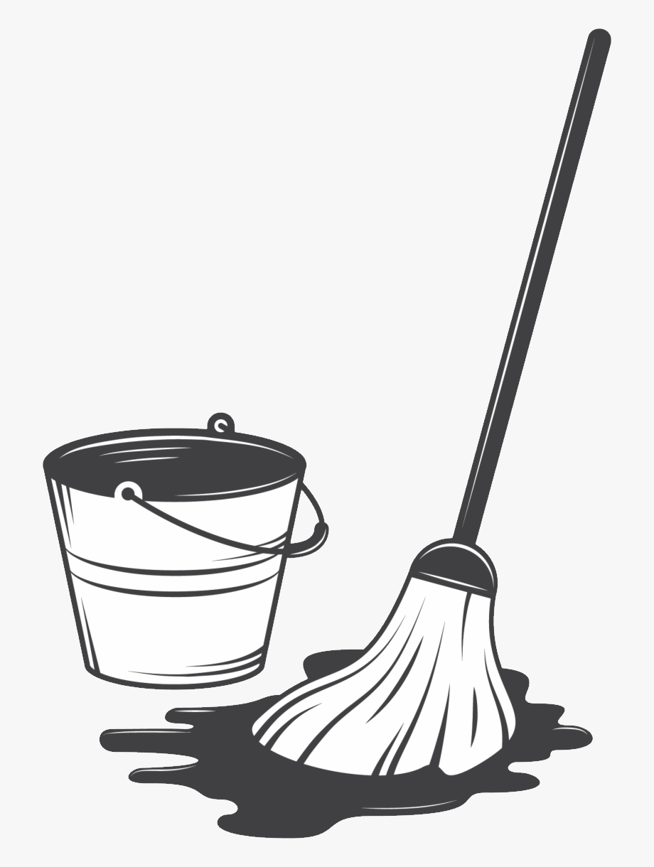 Png cleaning clip art. Mop clipart housekeeping supply