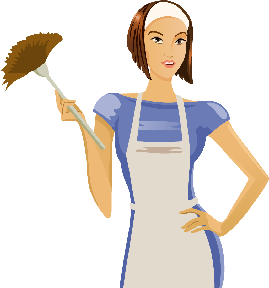 What better gift for. Housekeeping clipart maid