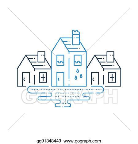 Eps vector pipe leaking. Housekeeping clipart poor housekeeping