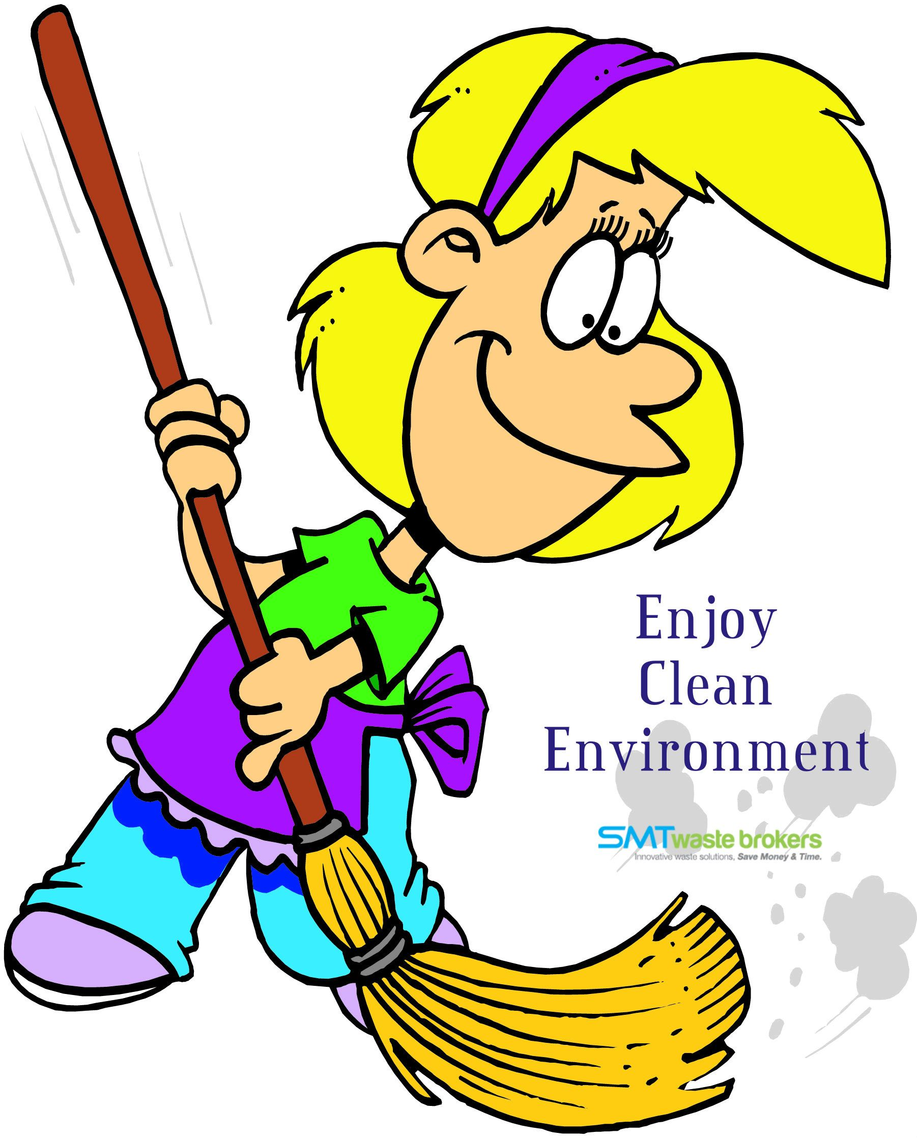 Enjoy a clean surrounding. Housekeeping clipart practice