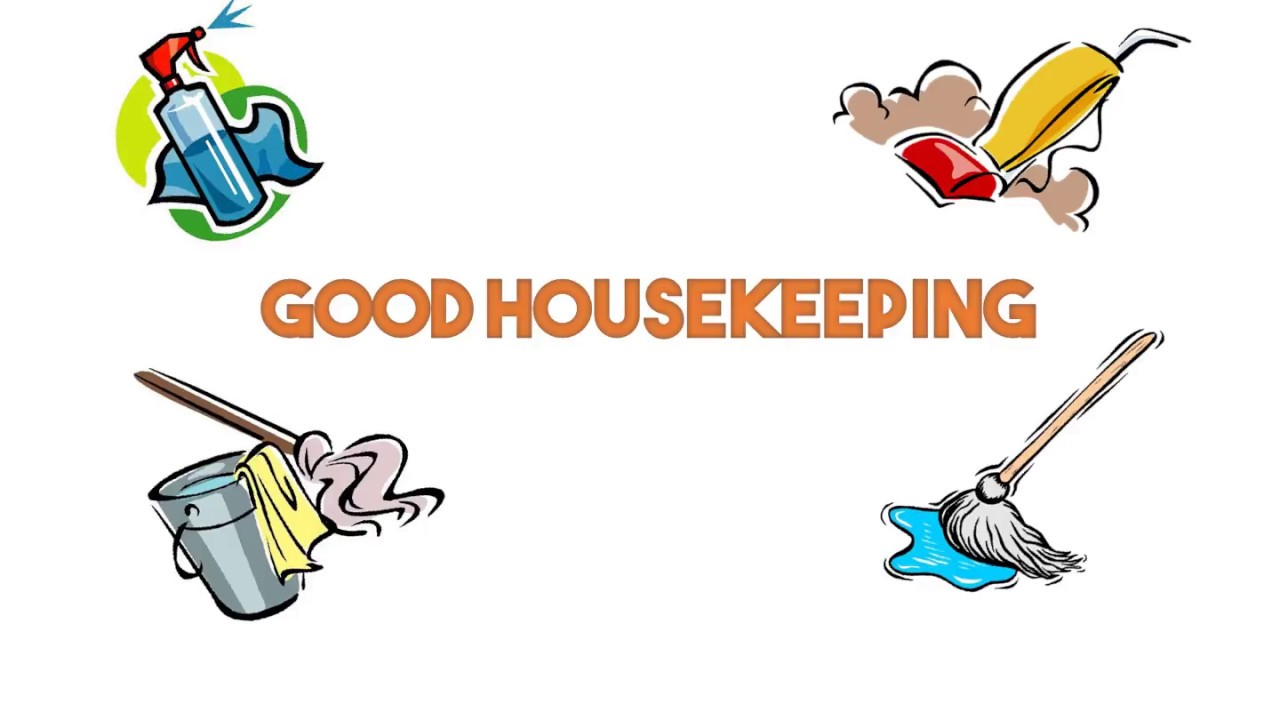 Good in the workplace. Housekeeping clipart practice