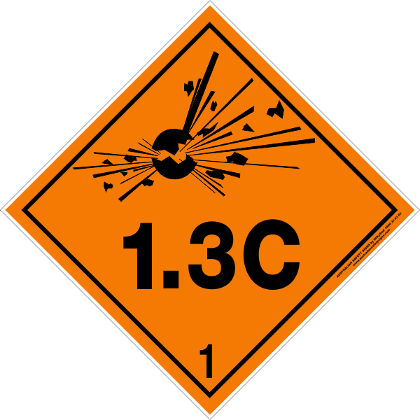 Class explosive c australian. Housekeeping clipart safety signage