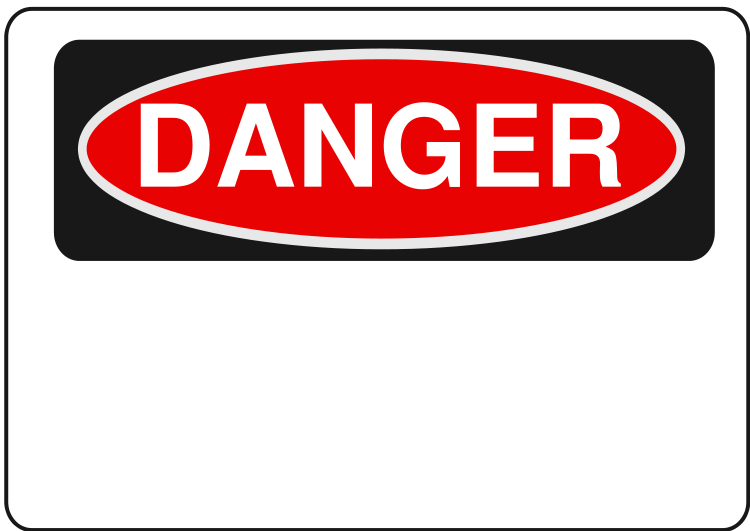 Housekeeping clipart safety signage. Signs kc supply