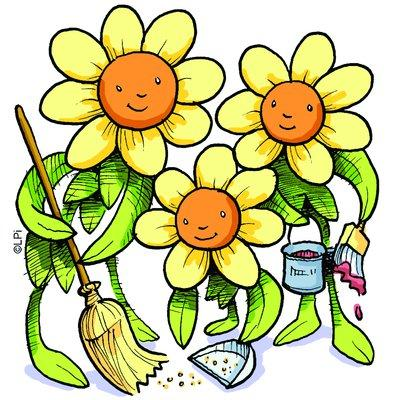 Cleaning clip art clipartix. Housekeeping clipart spring