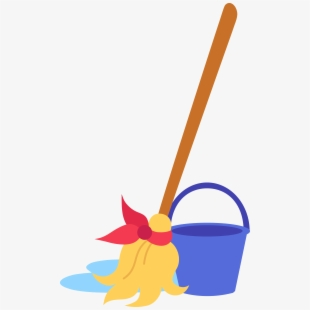 Svg cleaning hygiene and. Housekeeping clipart sweep mop