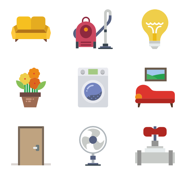icon packs vector. Housekeeping clipart thank you