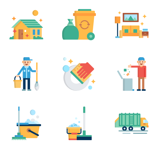 housekeeper icon packs. Housekeeping clipart thank you