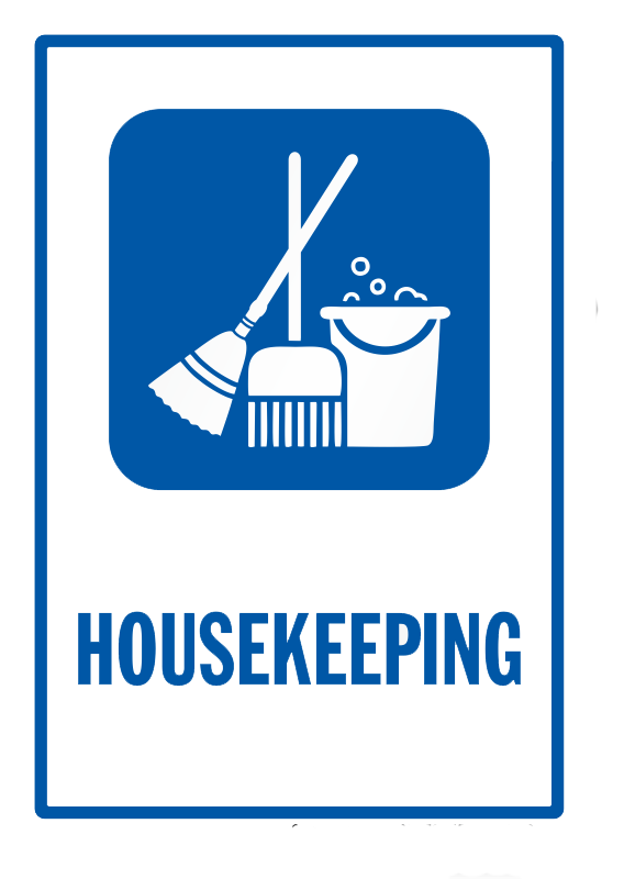 Service rtc security cleaning. Housekeeping clipart warehouse