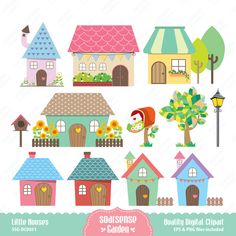 Houses clipart.  best images on