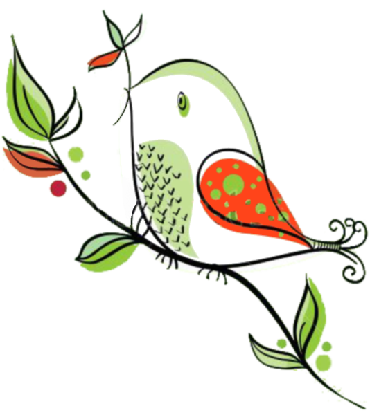 Pin by cynthia d. Houses clipart birds