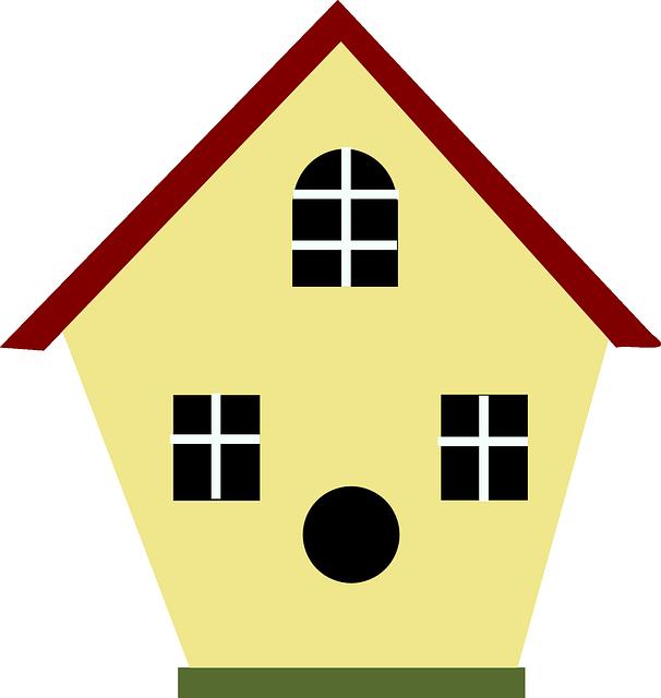 Houses clipart birds. Free image on pixabay