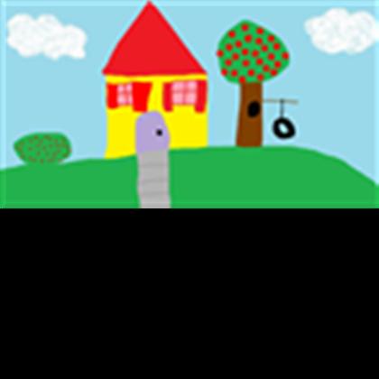 Blues clues house roblox. Houses clipart blue's clue
