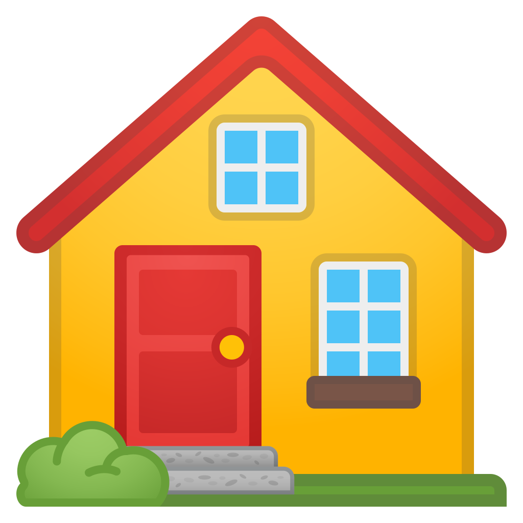 Png house icon. Noto emoji travel places