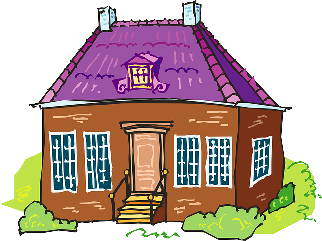 Houses clipart flat. Nice house clipground