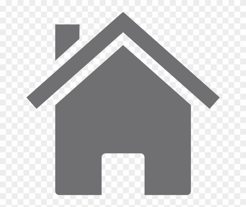 House icon clip art. Houses clipart grey