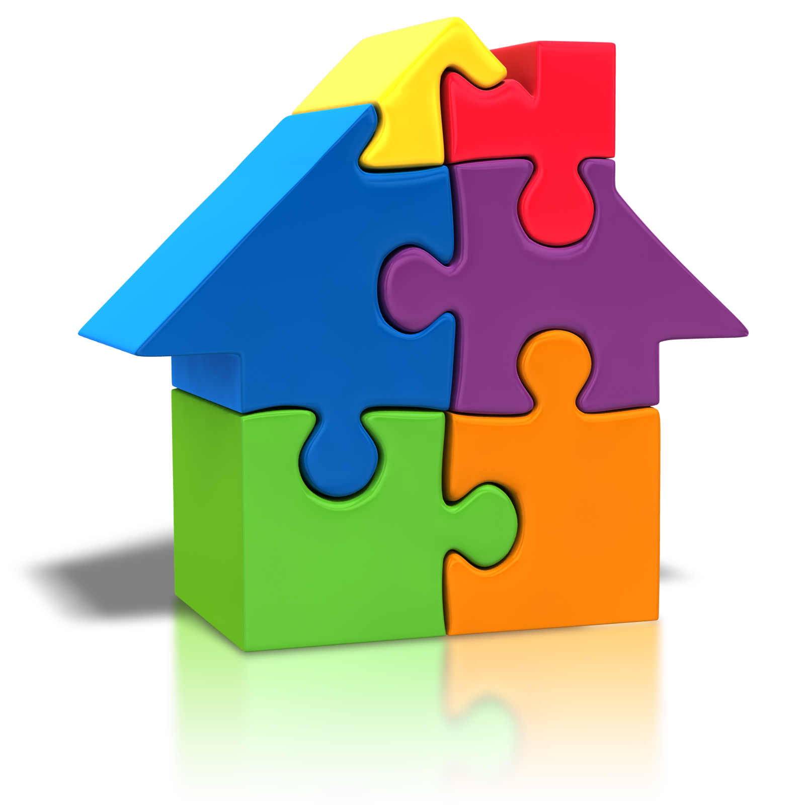 House best place to. Houses clipart puzzle