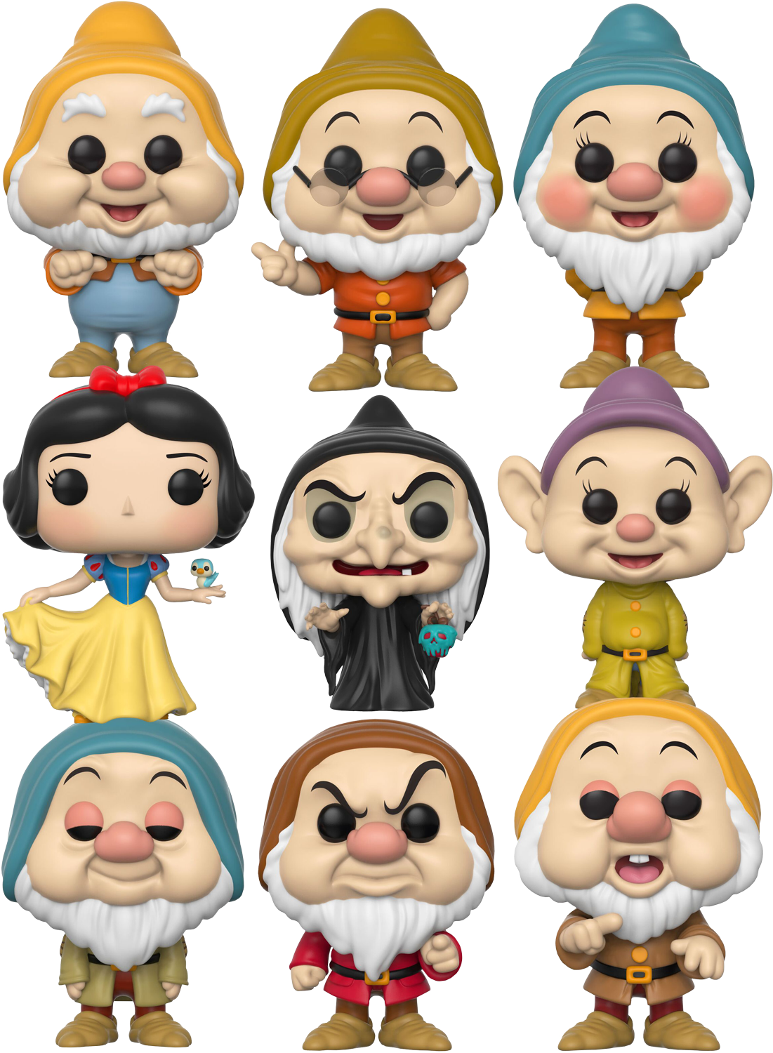 Snow white and the. Houses clipart seven dwarfs