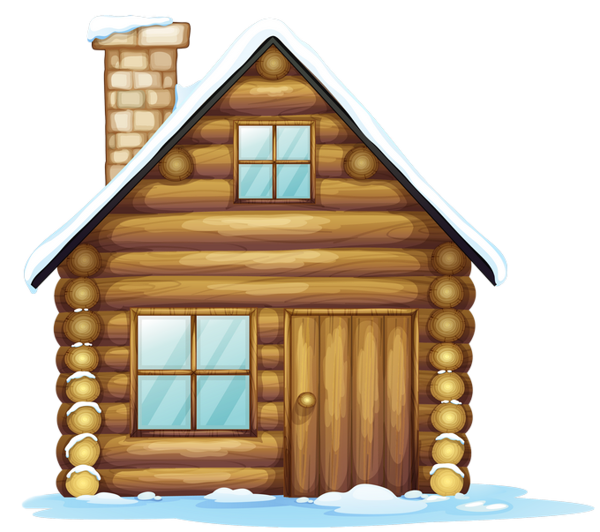 Telephone clipart cabin. Inverno christmas house printables