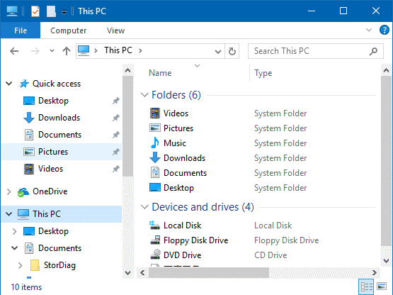 How do i open a png file in windows 10. To enable the command